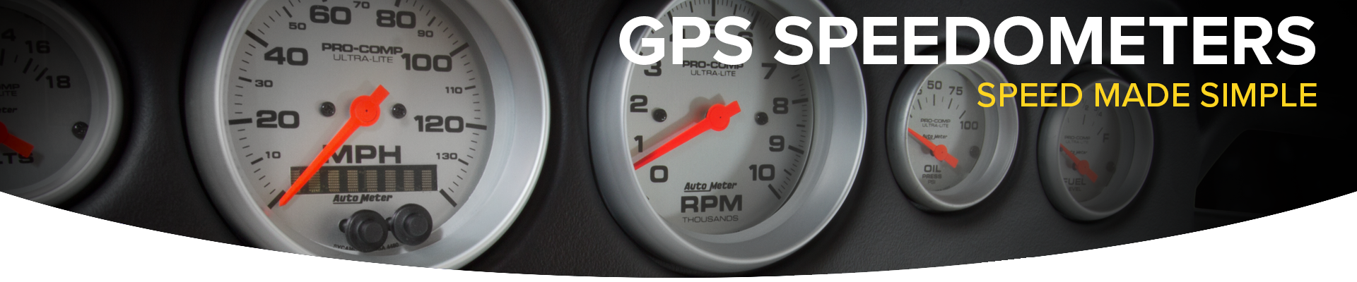 GPS Speedometers from AutoMeter