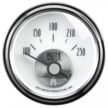 "2-1/16"" WATER TEMPERATURE, 100-250 °F, AIR-CORE, PRESTIGE PEARL"