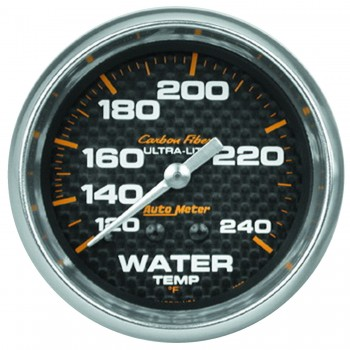 "2-5/8"" WATER TEMPERATURE, 120-240 °F, 6 FT., MECHANICAL, CARBON FIBER"