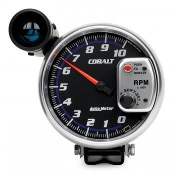 """5"""" PEDESTAL TACHOMETER, 0-10,000 RPM, COBALT"""