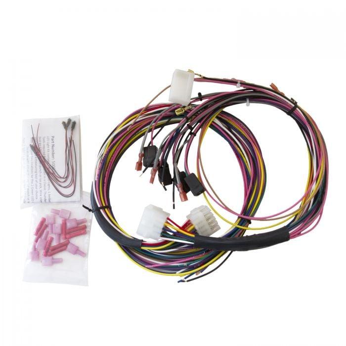 GAUGE WIRE HARNESS, UNIVERSAL, FOR TACH/SPEEDO/ELEC. GAUGES, INCL. LED  INDICATORS   Speedometer Gauge Wiring Diagram      Autometer
