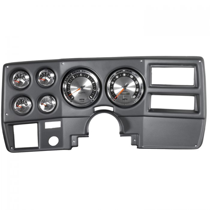 6 Pc, Camaro 70-78, Tach//Mph//Fuel//Oilp//Wtmp//Volt, American Muscle AUTO METER 7022 Gauge Kit