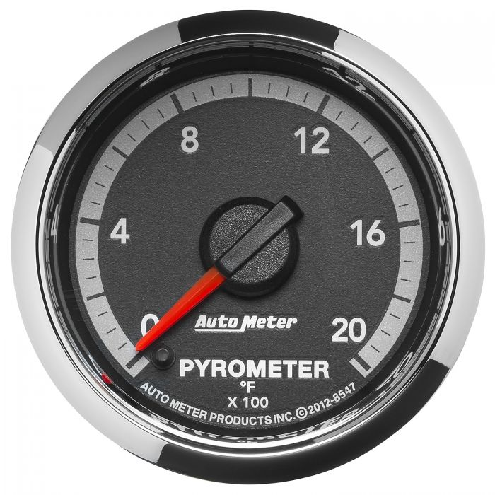 Auto Meter 5945 ES 2-1//16 0-2000 F Full Sweep Electric Pyrometer E.G.T. Exhaust Gas Temperature