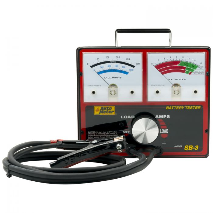 Auto Meter SB-5//2 800 Amp Variable Load Battery//Electrical System Tester