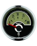 "2-1/16"" OIL PRESSURE, 0-100 PSI, AIR-CORE, AIR-CORE, CRUISER"