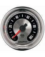 "2-1/16"" OIL PRESSURE, 0-100 PSI, STEPPER MOTOR, AMERICAN MUSCLE"