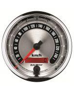 "3-3/8"" SPEEDOMETER, 0-260 KM/H, AMERICAN MUSCLE"