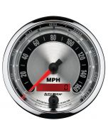 "3-3/8"" SPEEDOMETER, 0-160 MPH, ELECTRIC, AMERICAN MUSCLE"