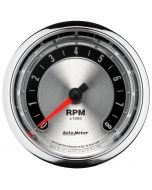 """3-3/8"""" IN-DASH TACHOMETER, 0-8,000 RPM, AMERICAN MUSCLE"""