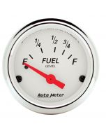 "2-1/16"" FUEL LEVEL, 73-10 Ω, AIR-CORE, FORD, ARCTIC WHITE"