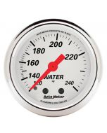 "2-1/16"" WATER TEMPERATURE, 120-240 °F, 6 FT., MECHANICAL, ARCTIC WHITE"
