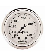 "2-1/16"" WATER TEMPERATURE, 120-240 °F, 6 FT., MECHANICAL, OLD-TYME WHITE"