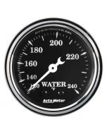 "2-1/16"" WATER TEMP, 120-240 °F, 6 FT., MECHANICAL,  OLD TYME BLACK"