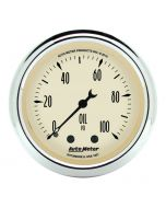 "2-1/16"" OIL PRESSURE, 0-100 PSI, MECHANICAL, ANTIQUE BEIGE"