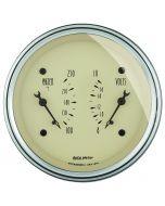 """3-3/8"""" DUAL GAUGE, 100-250 °F/8-18V, ANTIQUE BEIGE"""