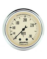 "2-1/16"" WATER TEMPERATURE, 120-240 °F, 6 FT., MECHANICAL, ANTIQUE BEIGE"