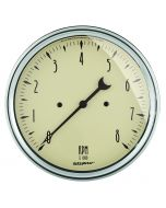 "5"" IN-DASH TACHOMETER, 0-8,000 RPM, ANTIQUE BEIGE"