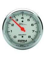 "3-3/8"" TACHOMETER, 0-8,000 RPM, SILVER, PRO-CYCLE"