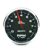 "2-5/8"" TACHOMETER, 0-8,000 RPM, BLACK, BLUE LED, PRO-CYCLE"