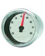 "2-5/8"" TACHOMETER, 0-8,000 RPM, CHROME, PRO-CYCLE"