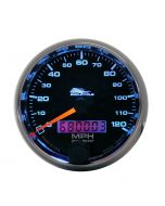 """2-5/8"""" SPEEDOMETER, 0-120 MPH, ELECTRIC, BLACK, PRO-CYCLE"""