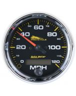"""3-3/4"""" SPEEDOMETER, 0-120 MPH, ELECTRIC, BLACK, PRO-CYCLE"""