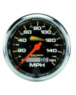 """3-3/4"""" SPEEDOMETER, 0-160 MPH, ELECTRIC, BLACK, PRO-CYCLE"""