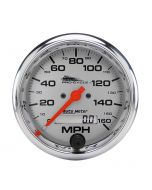 "3-3/4"" SPEEDOMETER, 0-160 MPH, ELECTRIC, SILVER, PRO-CYCLE"