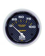 "2-5/8"" OIL PRESSURE, 0-100 PSI, AIR-CORE, AIR-CORE, MARINE CARBON FIBER"