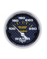 "2-1/16"" WATER TEMPERATURE, 100-250 °F, AIR-CORE, MARINE CARBON FIBER"