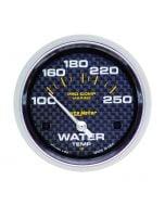 "2-5/8"" WATER TEMPERATURE, 100-250 °F, AIR-CORE, MARINE CARBON FIBER"