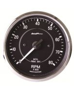 "4"" IN-DASH TACHOMETER, 0-8,000 RPM, COBRA"