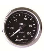 "2-1/16"" OIL PRESSURE, 0-100 PSI, MECHANICAL, COBRA"