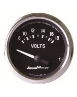 "2-1/16"" VOLTMETER, 8-18V, AIR-CORE, COBRA"