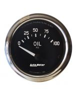 "2-1/16"" OIL PRESSURE, 0-100 PSI, AIR-CORE, AIR-CORE, COBRA"