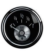 "2-1/16"" FUEL LEVEL, 240- 33 Ω, AIR-CORE, SSE,PRESTIGE BLK"