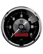 "3-3/8"" SPEEDOMETER, 0-120 MPH, ELECTRIC, PRESTIGE BLACK DIAMOND"
