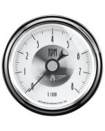 """3-3/8"""" IN-DASH TACHOMETER, 0-8,000 RPM, PRESTIGE PEARL"""