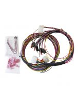 GAUGE WIRE HARNESS, UNIVERSAL, FOR TACH/SPEEDO/ELEC. GAUGES, INCL. LED INDICATORS