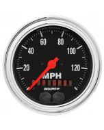 "3-3/8"" GPS SPEEDOMETER, 0-140 MPH, TRADITIONAL CHROME"
