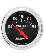 """2-1/16"""" WATER TEMPERATURE, 100-250 °F, AIR-CORE, TRADITIONAL CHROME"""