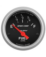 "2-1/16"" FUEL LEVEL, 240-33 Ω, AIR-CORE, SSE, SPORT-COMP"