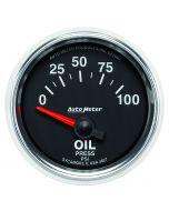 "2-1/16"" OIL PRESSURE, 0-100 PSI, AIR-CORE, GS"