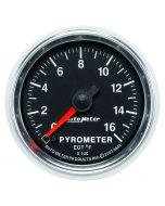 "2-1/16"" PYROMETER, 0-1600 °F, STEPPER MOTOR, GS"