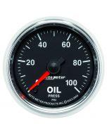 """2-1/16"""" OIL PRESSURE, 0-100 PSI, STEPPER MOTOR, GS"""