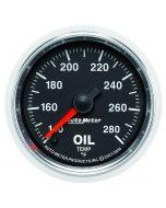 "2-1/16"" OIL TEMPERATURE, 140-280 °F, STEPPER MOTOR, GS"