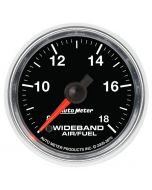 "2-1/16"" WIDEBAND AIR/FUEL RATIO, ANALOG, 8:1-18:1 AFR, GS"