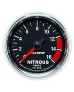 "2-1/16"" NITROUS PRESSURE, 0-1600 PSI, STEPPER MOTOR, GS"