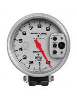 "5"" PEDESTAL PLAYBACK TACHOMETER, 0-9,000 RPM, ULTRA-LITE"