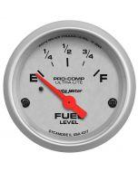 "2-1/16"" FUEL LEVEL, 0-30 Ω, AIR-CORE, PRE `65 GM, SSE"